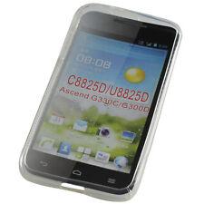 TPU Case / Tasche für Huawei Ascend G330D U8825D S- Curve transparent Neu