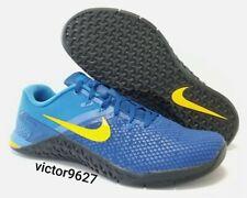 Size 11.5 Nike Metcon 4 XD Team Royal Amarillo Training Shoes BV1636-474 Mens
