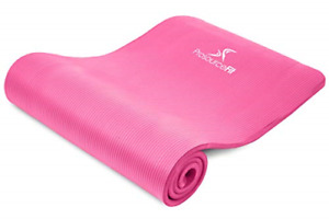 """Prosource Fit Extra Thick Yoga and Pilates Mat ½"""" 13mm, 71-inch Long High Mat"""