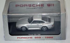 Atlas: Porsche 959 - 1986 - 1:43 - NEU - Modellauto - Porsche 911 Collection