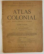 Atlas Colonial, Henri Mager, A. Jacquemart, 1890