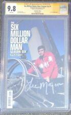 Six Million Dollar Man: Season Six #1__CGC 9.8 SS__Signed by Lee Majors