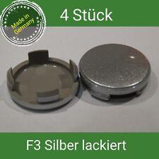F3 silber lackiert Nabenkappen  Felgendeckel  55 mm Ford  4 St.
