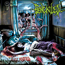 """BEING KILLED """"Kill Yourself"""" death metal CD"""