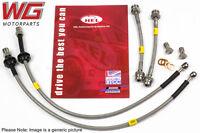 HEL Braided Brake Line Hose Kit for VW Golf MK3 2.0GTI 8V AGG Rear Drums (92-96)