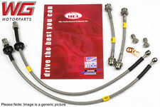 HEL Braided Brake Line Hose Kit - VW Passat MK5 1.9TDI 110 Banjo Fitting 1997-99