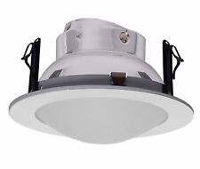"""4"""" Low Voltage Frost Dome Shower Trim/Trims for Recessed Light/lighting-6 Pack"""