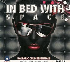 2 CD COMPIL DIGIPACK 26 TITRES--IN BED WITH SPACE--MIXED BY D.O.N.S & PAUL LOMAX