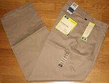 Dockers proStyle Khaki Dress Pants Pleated Relaxed Fit Tan 30x32 New