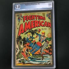 Fighting American #5 (Prize 1954) 💥 PGX 5.0 💥 Rare! Golden Age Jack Kirby