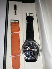 Orologio oversize chronograph CARAVELLE BULOVA - Military style watch - 3 Atm.