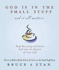 GOD IS IN THE SMALL STUFF and it all matters by Bruce and Stan - NEW!