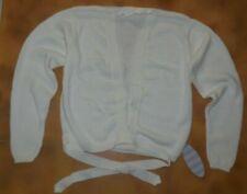 Winter White Wrap Sweater Classic Style Harmonie by CAPEZIO Dance Ladies Size