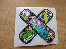 Etiqueta engomada de yeso Pegatina de coche bomba color van Bicicleta Ventana Parachoques Computadora portátil - 90mm