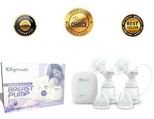 Electric Breast Pump Hospital Quality Mobile On-The-Go Double Breast Pump Set