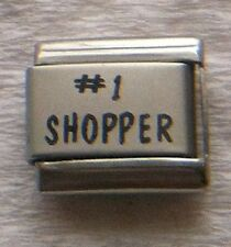 """""""#1 SHOPPER""""  9MM ITALIAN CHARM-MALL, SALES, ONLINE, CHARGE CARD, CASH"""