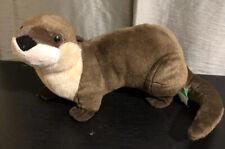 """Wild Republic River Otter 15"""" Brown"""