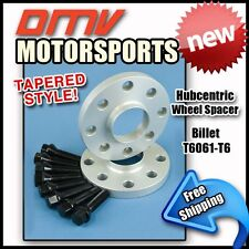 10MM Hubcentric Wheel Spacers Black Tapered Bolts BMW 4x100 57.1 14x1.5