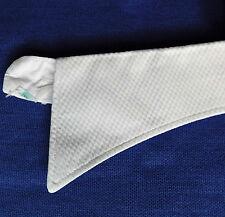 Vintage Marcella evening shirt collar size 15 1940s 1950s Mens white cotton