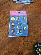 Hallmark Star Trek Stickers Jim Scotty Spock