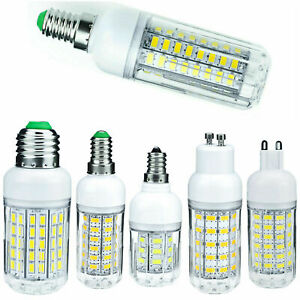 LED Corn Light Bulbs E27 E14 B22 5730 SMD 30W - 90W Equivalent Bright Lamps RML
