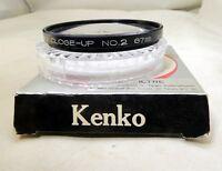 Kenko +2  No 2 Close-Up Macro 67mm  Lens Filter   -  Free Shipping USA
