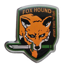"""Metal Gear Solid FOX HOUND Special Force Group Enamel 1 1/2"""" Tall Pin"""