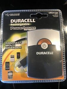 Duracell rechargeable Powerhouse USB Charger Multi Charger 3.7 Volt/2000 mAh