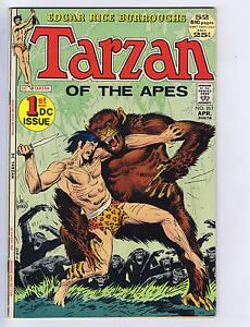 Tarzan #207 DC 1972
