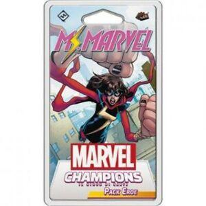 Marvel Champions  LCG Ms Marvel Pack Eroe Carte Gioco Espansione