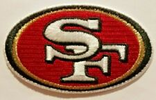 San Francisco 49ers Official Iron On Embroidered Patch USA Seller