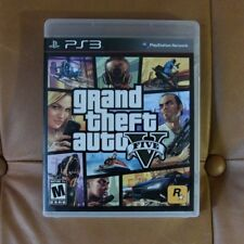 Grand Theft Auto V GTA 5 PS3 Complete w Map, Manual, Excellent Condition