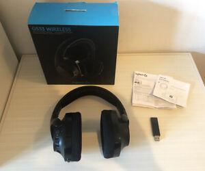 Logitech G533 Wireless DTS 7.1 Surround Gaming Headset - (981-000632)