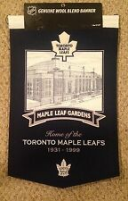 TORONTO MAPLE LEAFS MAPLE LEAF GARDENS STADIUM BANNER