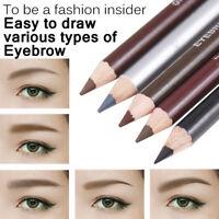 Marron Noir Gris Eye-Liner Imperméable Sourcil Crayon Eyeliner Brosse