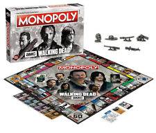 Monopoly THE WALKING DEAD Board Game AMC Rick Daryl Negan USAOPOLY SEALED 2017