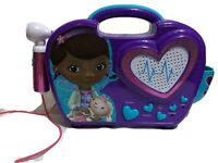 Disney Doc McStuffins Rockin Doc Sing Along Boom Box Battery Operated
