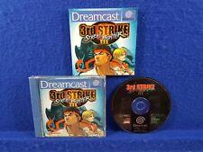 Sega Dreamcast STREET FIGHTER III 3 3rd Strike RARE Game Boxed & Complete PAL UK