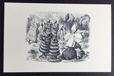 Alice In Wonderland POSTCARD Lewis Carroll JOHN TENNIEL Red King QUEEN AW38