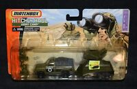 MATCHBOX HITCH 'n HAUL ARMY CAMP NOS New Sealed on Card MBX Metal MOC Truck