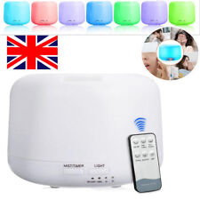 Remote 7 LED Humidifier Air Aroma Essential Oil Diffuser Aromatherapy Atomizer