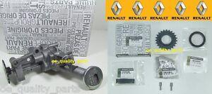 OE Genuine Renault Oil Pump Trafic Megane Laguna Espace 1.9 DCI DTi + Chain Kit