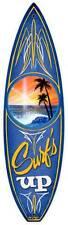 Surf's Up Surfboard Beach Sunset Metal Sign Man Cave Garage Club Shop Mlk030