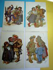 Erster Weltkrieg (1914-18) Ansichtskarten aus Bayern mit dem Thema Künstlerkarte