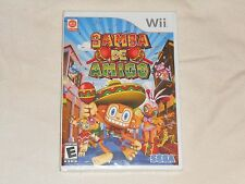 NEW Samba De Amigo Nintendo Wii Game FACTORY SEALED maraca shaking we US NTSC