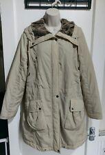 Ladies Heine  Coat - size 14 Soft Fluffy Lined #G