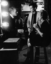 """STEVE McQUEEN w/ ANTHONY PERKINS JANET LEIGH ON """"PSYCHO"""" SET 8X10 PHOTO (ZZ-290)"""