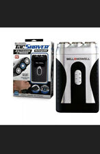 Bell+Howell - Tac Shaver - Mustache and Beard Rotary Shaver with Pop Up Trimmer