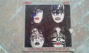 lp 45giri- kiss- I Was Made For Lovin' You/hard times- quello in foto