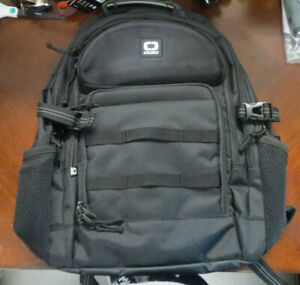"New Ogio Alpha Prospect Backpack 17"" Laptop Compartment Fully Loaded, Black"